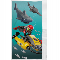 LEGO Полотенце LEGO CITY SHARK, 413